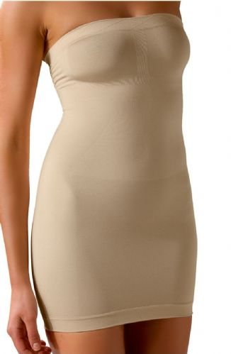 Strapless shaping dress, bridal shapewear